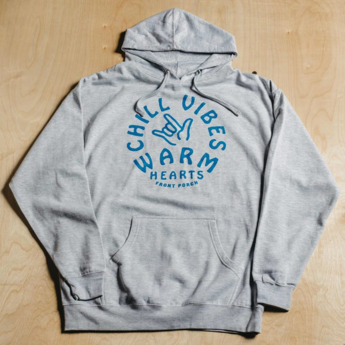 Front-Porch-Coffee-Grey-Chill-Vibes-Warm-Hearts-Graphic-Hoodie