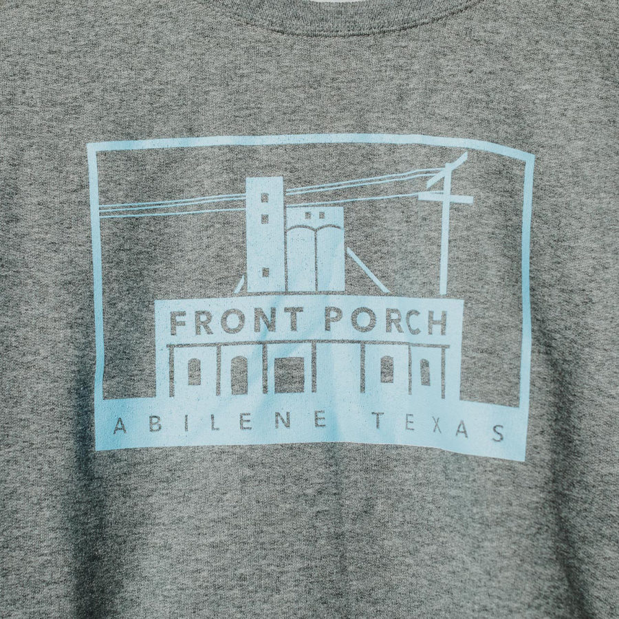 Front Porch StoreFront Sweatshirt blue