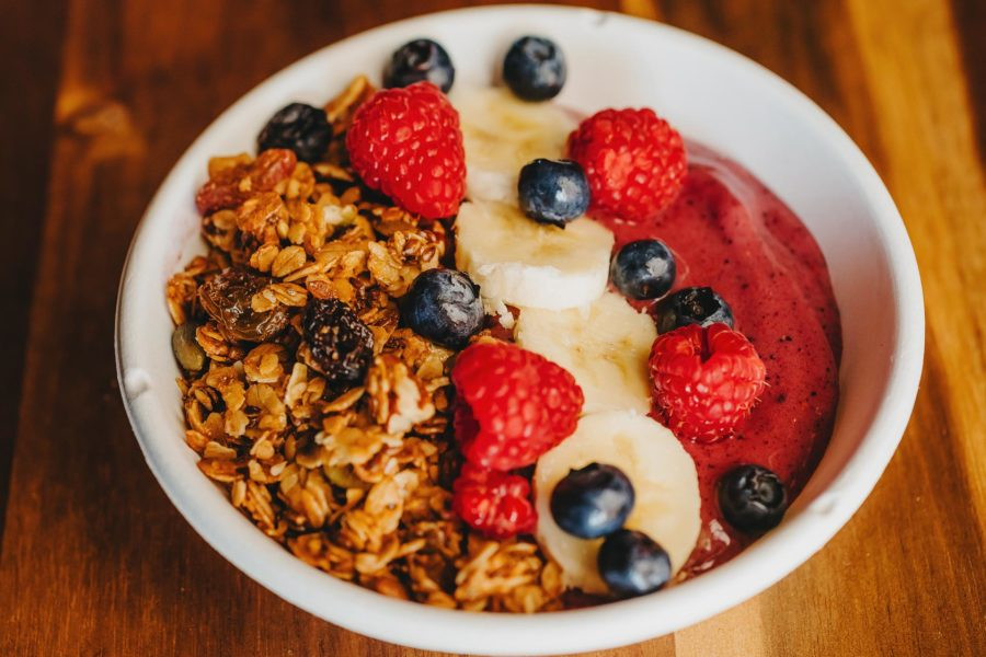 Mixed Berry Acai Bowl